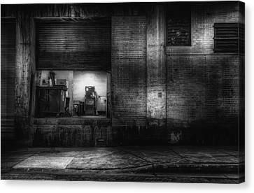 Loading Dock Canvas Print by Scott Norris