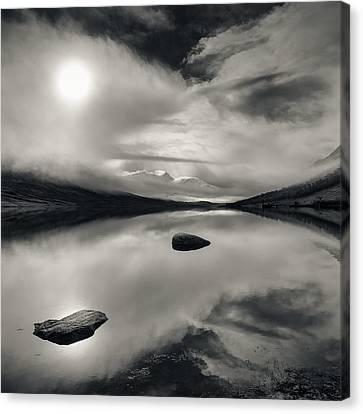 Loch Etive Canvas Print by Dave Bowman