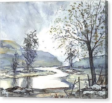 Loch Goil Scotland Canvas Print by Carol Wisniewski