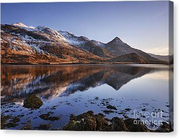 Loch Leven And The Pap Of Glencoe Canvas Print by Rod McLean