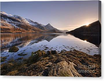 Loch Leven Canvas Print by Rod McLean