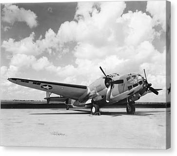 Lockheed Ventura B-34 Canvas Print by Underwood Archives