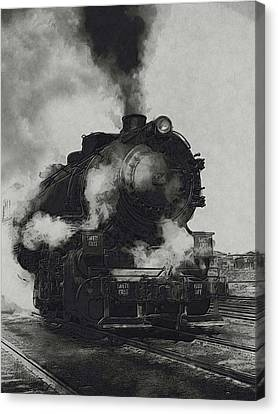 Locomotive Canvas Print by Jack Zulli