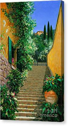 Lofty Hights - Oil Canvas Print by Michael Swanson
