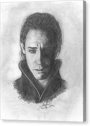 Loki Canvas Print by Christine Jepsen