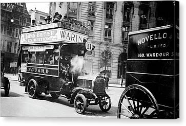 London Motor Bus Canvas Print by Library Of Congress