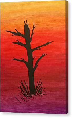 Lone Tree Canvas Print by Keith Nichols