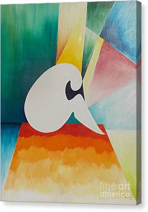 Loneliness Canvas Print by PainterArtist FIN
