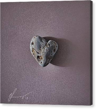 Lonely Heart Canvas Print by Elena Kolotusha