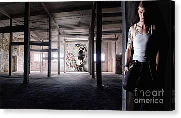 Lonelyness - Ay Cosplay 2013 Canvas Print by Ute Bescht