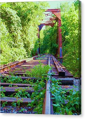 Lonesome Railroad #5 Canvas Print by Robert ONeil