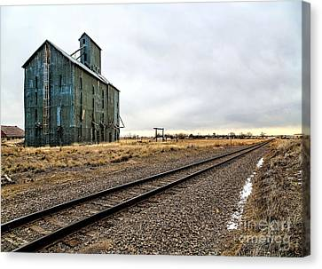 Lonesome Road Canvas Print by Jon Burch Photography