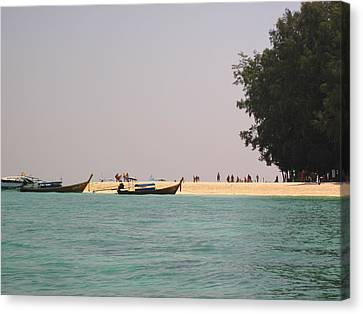 Long Boat Tour - Phi Phi Island - 0113213 Canvas Print by DC Photographer