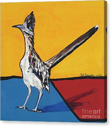 Long Distance Runner Canvas Print by Pat Saunders-White