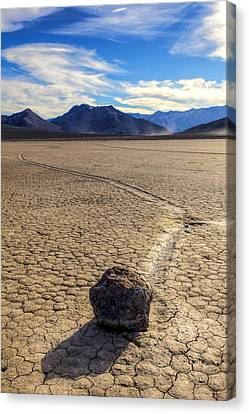 Long Journey  Canvas Print by James Marvin Phelps