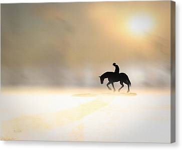 Long Ride Home Canvas Print by Bob Orsillo