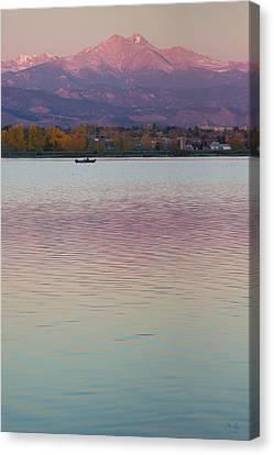 Longs Peak 2 Canvas Print by Aaron Spong