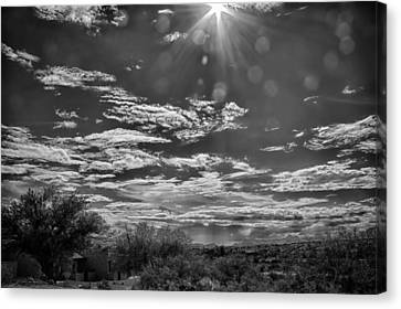 Look To The Western Sky Canvas Print by Judi FitzPatrick