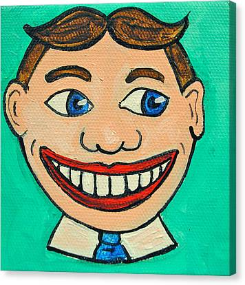 Lookin Right Tillie Canvas Print by Patricia Arroyo