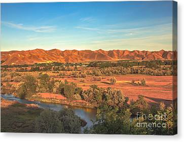 Looking East Canvas Print by Robert Bales