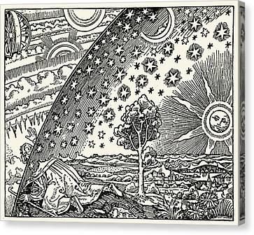 Looking Into The Cosmos Canvas Print by Detlev Van Ravenswaay