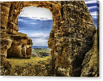 Looking Through - Sicily Canvas Print by Madeline Ellis
