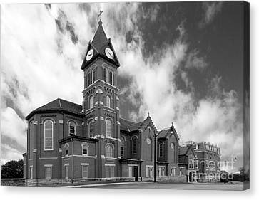 Loras College St. Joseph Chapel Canvas Print by University Icons