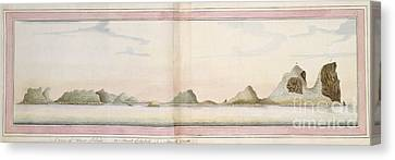 Lord Howe Island, 18th Century Canvas Print by Natural History Museum, London