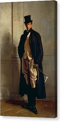 Lord Ribblesdale Canvas Print by John Singer Sargent