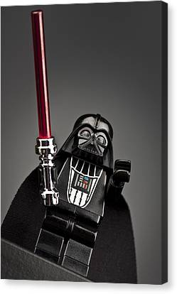 Lord Vader Canvas Print by Samuel Whitton