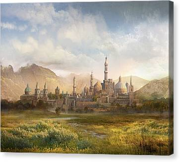 Lordaeron Canvas Print by Philip Straub