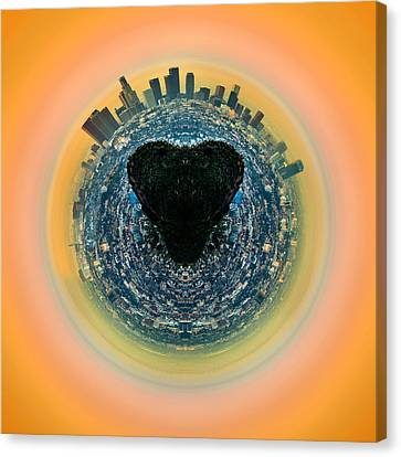 Love La Canvas Print by Az Jackson