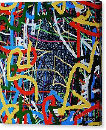 Los Angeles Canvas Print by Taikan Nishimoto