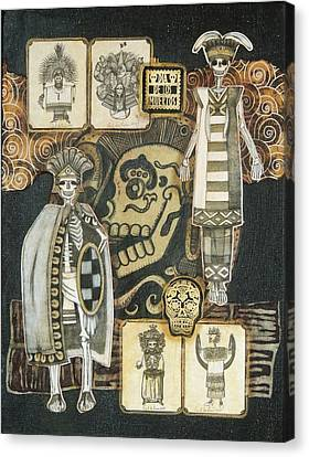 Los Indios Canvas Print by Candy Mayer