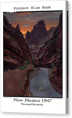 Lost Film Number 1 Canvas Print by Mike McGlothlen