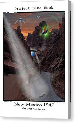 Lost Film Number 2  Canvas Print by Mike McGlothlen