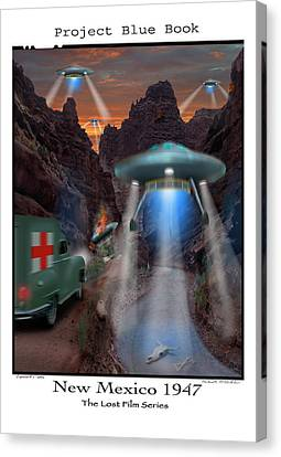 Lost Film Number 3 Canvas Print by Mike McGlothlen