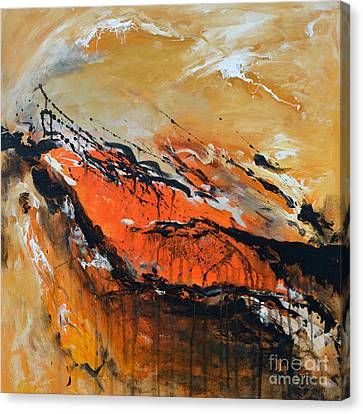 Lost Hope - Abstract Canvas Print by Ismeta Gruenwald