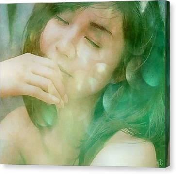 Lost In A Daydream Canvas Print by Gun Legler
