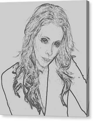 Lost In Emotion Canvas Print by Lisa Piper Menkin Stegeman