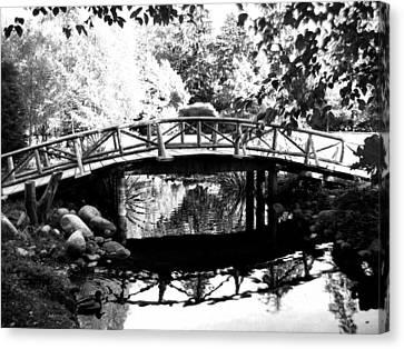 Lost Lagoon Bridge  Canvas Print by Will Borden