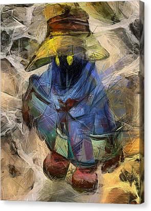 Lost Mage Canvas Print by Joe Misrasi