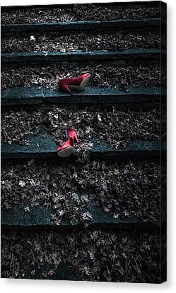 Lost Shoes Canvas Print by Joana Kruse
