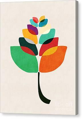 Flower Petals Canvas Print by Nava Seas