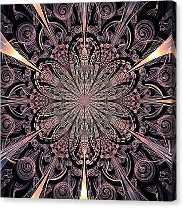 Lotus Gates Canvas Print by Anastasiya Malakhova