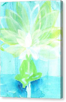 Lotus Petals Awakening Spirit Canvas Print by Ashleigh Dyan Bayer
