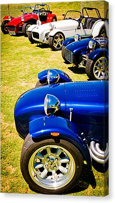 Lotus Seven Canvas Print by Phil 'motography' Clark