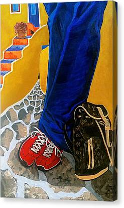 Louie Canvas Print by Chris Eckley