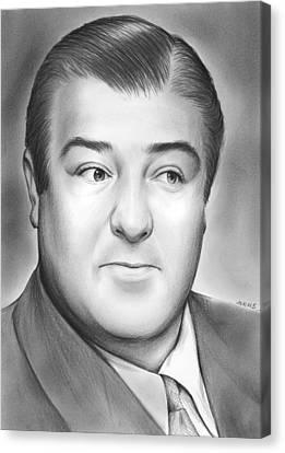Lou Costello Canvas Print by Greg Joens