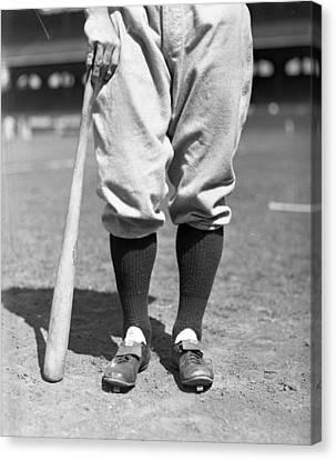 Lou Gehrig Of The New York Yankees Canvas Print by Retro Images Archive